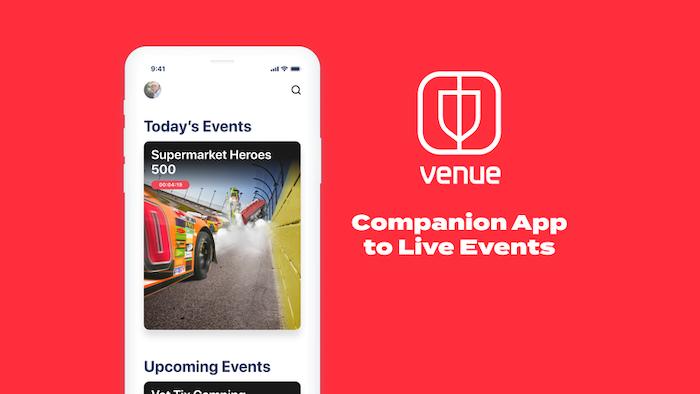Facebookが2020年5月にローンチしたスポーツ中継アプリ「Venue」