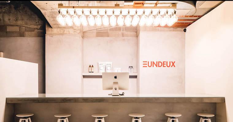 UNDEUX KOBE STUDIO店内の様子