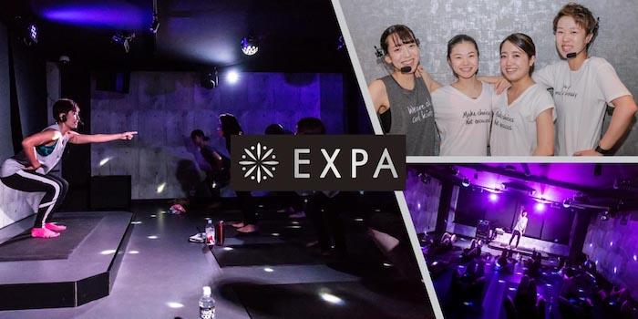 RIZAP(ライザップ)が運営する暗闇ダイエットジム業態EXPA(エクスパ)のトレーニング写真